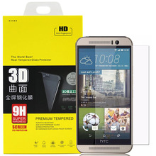 Premium Hardness Display screen Protector Tempered Glass Movie for HTC One M7 M8 One Mini2 M8 Mini M9 with Retail Package deal