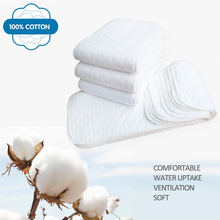 New Reusable baby Diapers – 1 piece 3 Layer Insert – 100% Cotton Washable Baby Care Products