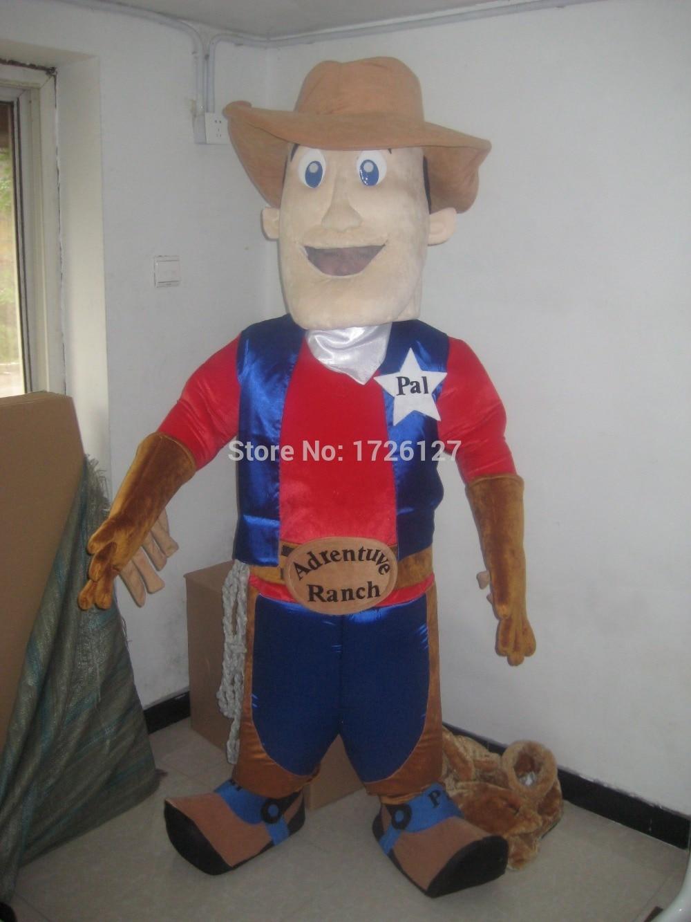 mascot cowboy mascot cow boy costume custom fancy costume anime cosplay kit mascotte theme fancy dress carnival costume