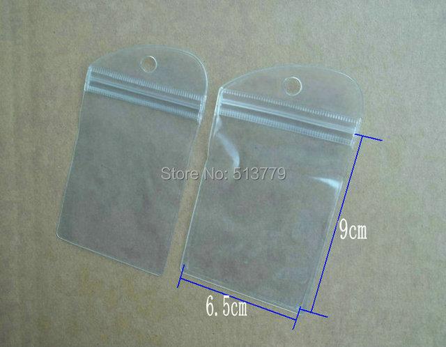 100pcs Lot Waterproof Clear Self Seal Zipper Plastic Retail Packaging Bag Zip Lock Ziplock