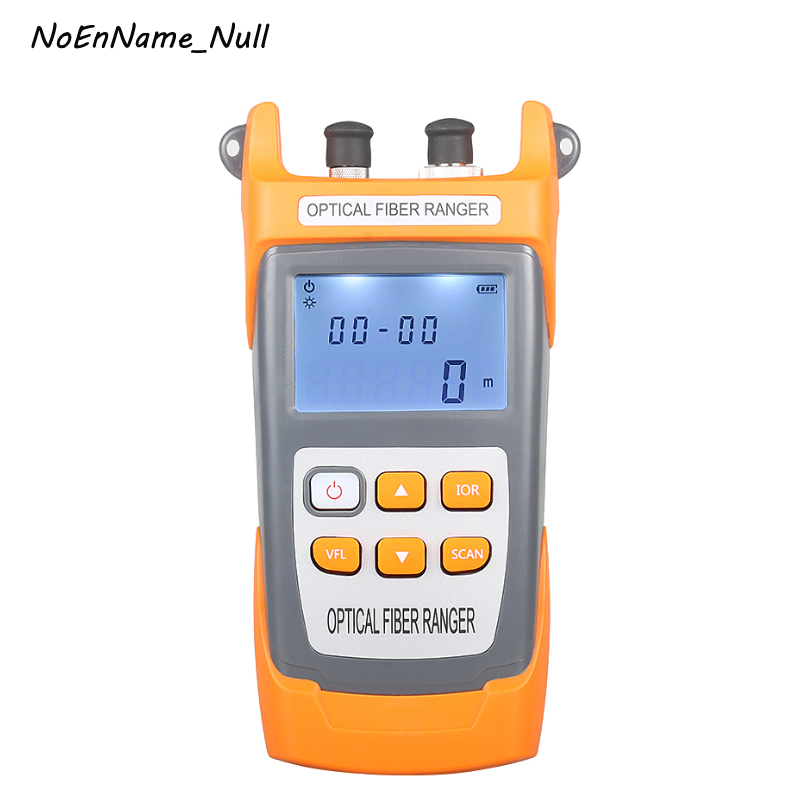 NOVKER NK304 Handheld OTDR 60km Optical Fiber Ranger Fiber optic cable obstacle detector 1550nm Fiber breakpoint