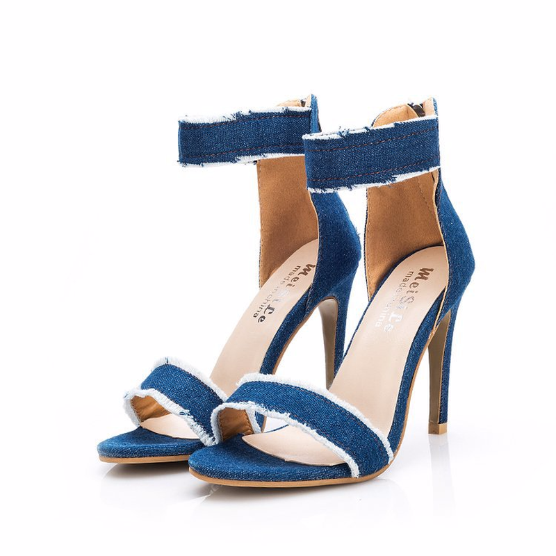 Clear heels and sandals women shoes in High Heels from Shoes