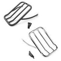 Areyourshop Motorcycle Rear Luggage Rack For Harley Sportster XL883N 2009 18 XL 1200N/V/X 2007 2018 Steel Motorbike Accessories