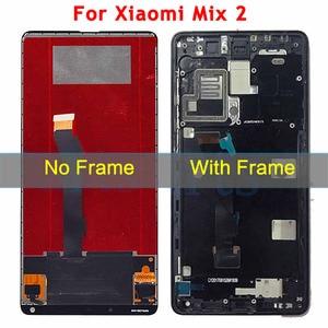 Image 3 - חדש נבדק עבור שיאו mi mi mi x LCD תצוגת מסך מגע Digitizer עצרת עם מסגרת עבור שיאו mi mi mi X 2 LCD החלפת חלקים