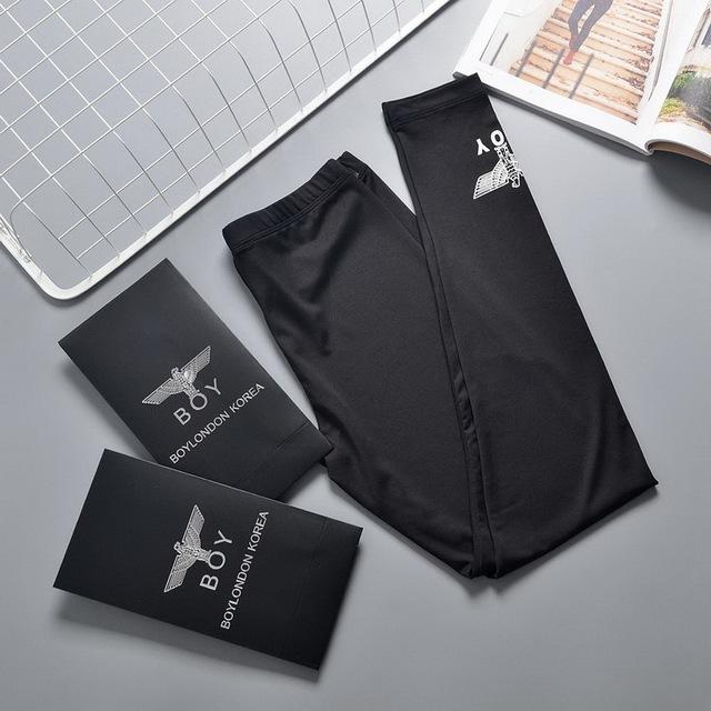 Caja libre de las mujeres boy london águila cartas patrón de impresión de alta cintura leggings elásticos rihanna chic spring summer leggings mlxl