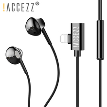 !ACCEZZ 2 in 1 New In-ear Earphone For iPhone 7 8 Plus X Xr Xs Stereo Wired Earphones Magnetic Charging Listening Sports Earbuds