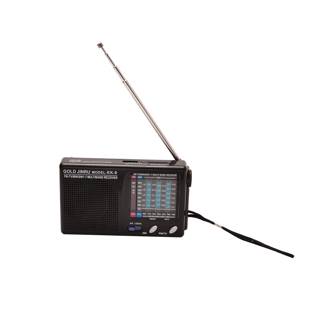 1 stück Tragbare Full Band Radio Professional Welt Band Radio Receiver Unterstützt DSP AM/FM/MW/SW stereo Mayitr