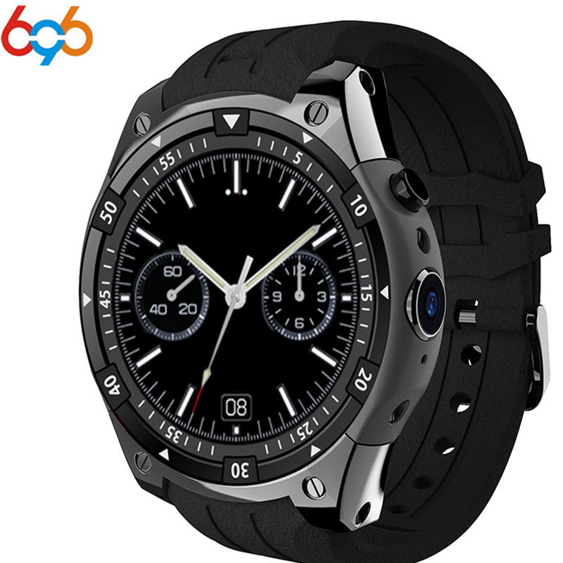 <font><b>X100</b></font> 3G Smart Watch MTK6580 Android 5.1 Dual Core Heart Rate GPS WiFi <font><b>Smartwatch</b></font> for IOS&Android Samsung gear s3 PK KW88 GW11 image