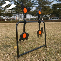 Tactical Skill/Outdoor & Indoor Airgun Plinking Target /Also For Airsoft Paintball Shooting/Improving Hunting Shooting