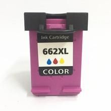 Vilaxh 662xl color compatible Ink Cartridge For HP 662 xl Deskjet 1515 1015 1018 1518 2515 2548 3548 4518 2648 2645 3545 2648 yves saint laurent jazz
