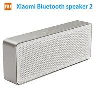 Original Xiaomi Mi Bluetooth Speaker Square Box 2 Xiaomi Speaker 2 Square Stereo Portable V4 2