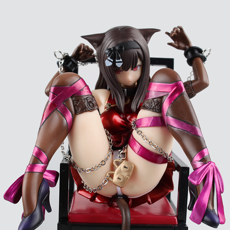 Planet of the Cat Anime Embrace Action Figures Sexy Naked Girls With Chairs Big Breast Chest Adult Toys Collectors Brinquedos