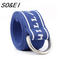 SOEI Luxury Canvas Belt For Men Nylon Knitted Military Outdoor Tactical  Men Belt Newest Fashion Men Waistband 4 Color To Choose цена
