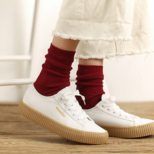 Harajuku Short Socks Art Cute Women Skateboard Fashion Soft Breathable Winter Warm Cotton  Sox Low Ankle Funny Socos