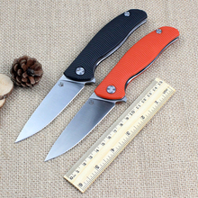 Good Quality Bear head F3 D2 blade G10 handle 2 Colors folding knife outdoor camping survival tool hunting EDC tactical knives