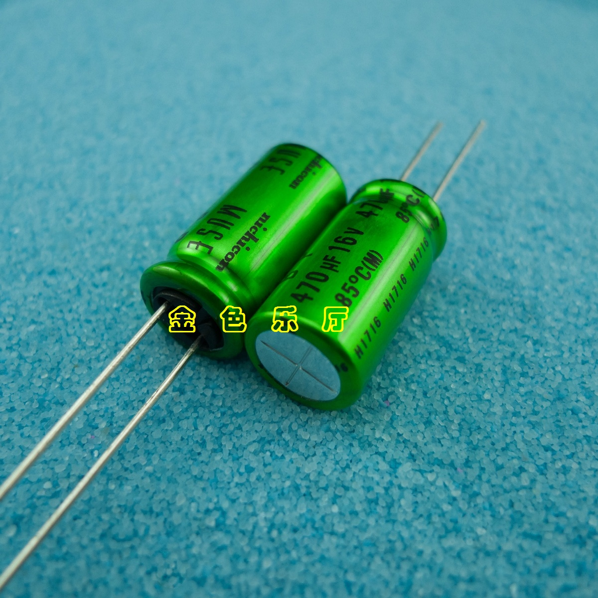 6 COUNT  NICHICON MUSE KZ 10uF//100V High-end Audio Electrolytic Capacitor