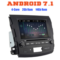 2 Din Android Car DVD For Mitsubishi Outlander 07 2012 With Wifi 3G Quad Core 1024