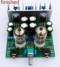 The finished HIFI 6J1 tube amplifier Headphones amplifiers LM1875T power amplifier 30W
