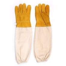 Пчеловод предотвратить перчатки защитные рукава вентилируемые пчеловод для пчеловодства пчеловод # xm0587