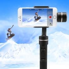 Feiyutech SPG Spritzwassergeschützt 3 achsen hand gimbal universal stabilisator für smartphone und action foto kamera
