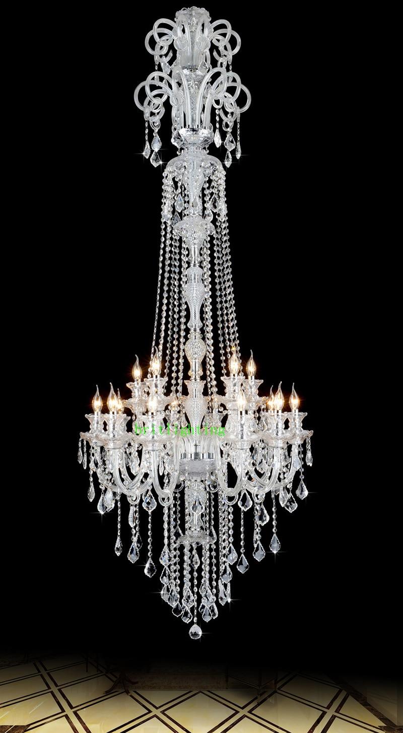 Lustres de cristal Lustre de cozinha grande com pingentes de cristal - Iluminação interior - Foto 3