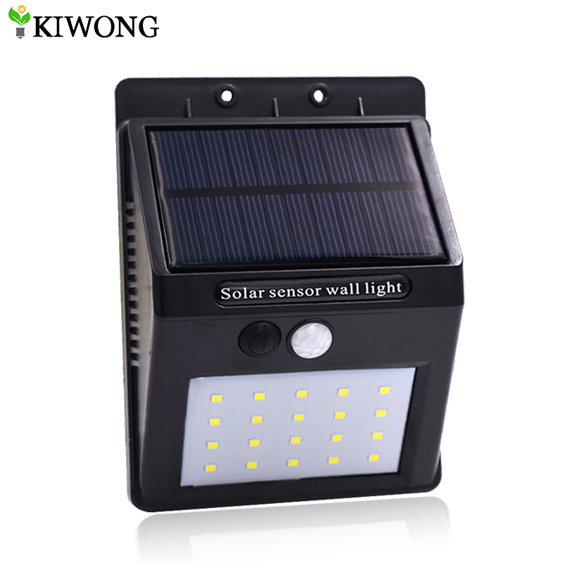 Us 12 7 35 Off Super Bright Solar Led Light Outdoor Waterproof 20 Leds Lighting System Lights Lamp For Garden Wall Yard Security Lamps In