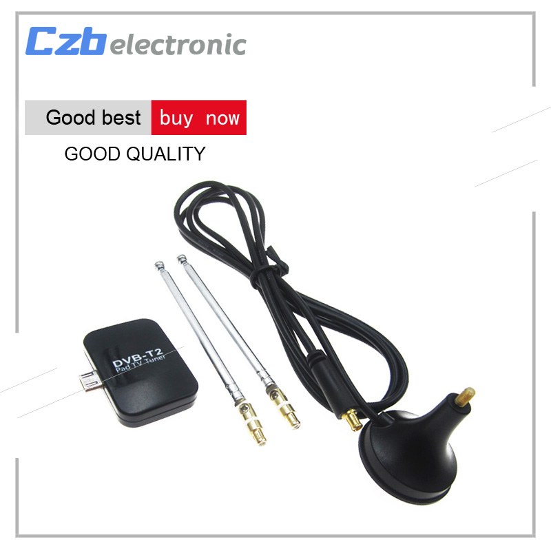 TV Receiver Micro Smart DVB T2 Mini Satellite TV Tuner USB DVB-T2 Signal Digital Receiver for Android Phone Smartphone