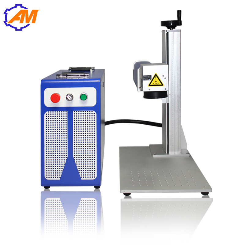 دستگاه حکاکی لیزر فیبر 20W قیمت دستگاه حکاکی لیزر صفحه فولاد ضد زنگ 300X300mm
