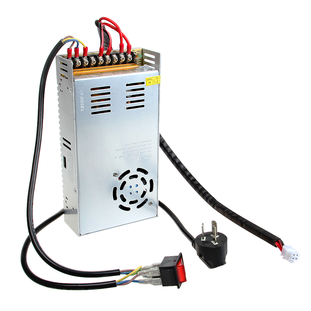 Geeetech S-360-12 12V 29A DC Single Switching Power Supply with Cables for 3D Printer Prusa Reprap 20pcs 350w 12v 29a power supply 12v 29a 350w ac dc 100 240v s 350 12 dc12v