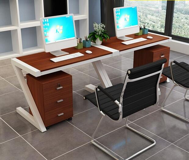 Package Mail Desk Combination Of Modern Computer Desk And