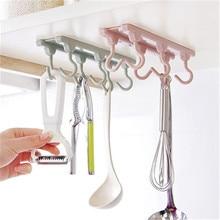 New 6 Hanging Strong Hooks Kitchen Utensils Kitchen Accessories Decoration Home Kitchen Cabinets Storage Racks Kitchen Gadgets.Q