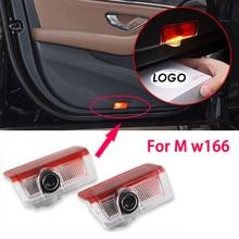 2X Led car door light For Mercedes Benz M w166 ML350 550 300 400 320 400 2012-2015 AMG Logo Laser Projector Light Accessories