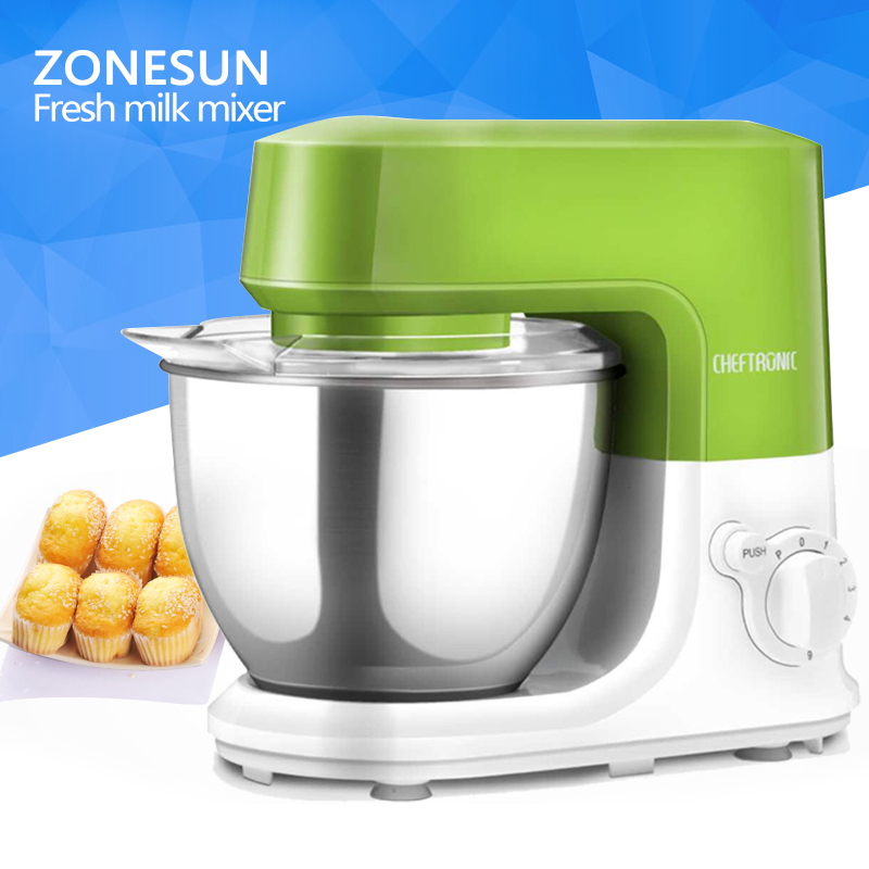 ZONESUN China Manufacturer Factory Price Real Fresh Fruit Ice Cream Machine New Zealand Ice Cream Mixer
