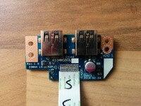 Wzsm оригинальный USB доска с кабелем для Acer Aspire e5-521 e5-571 USB доска ls-b162p тестирование