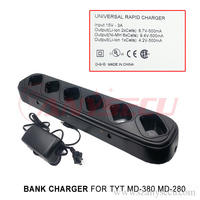TYT-MD380/MD280 radio universal rapid charger same time recharge six walkie-talkie machine (MD-380/MD-280) Free shipping
