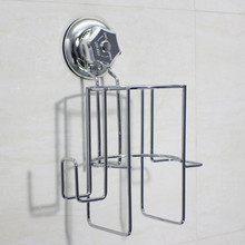 Stainless Steel Super  Suction Hair Dryer Holder Hair Dryer Stand Rack
