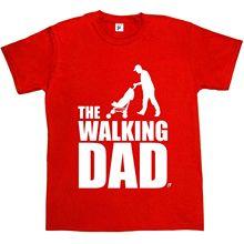 The Walking Dad Funny Parody Zombie Dead Undead Mens T-Shirt2019 short sleeve t shirt men fashion brand