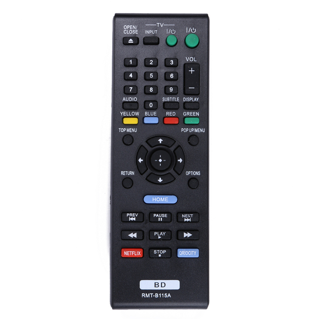 Smart Home Remote Control RMT B115A For Sony Blu Ray DVD Player BDP