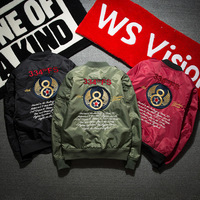 2017 Promotion Military The New Baseball Uniform Male Korean Students Bf All match Loose Spring Brand Air Force Pilot Jacket