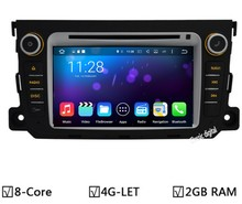 Car DVD Player GPS For Mercedes Benz Smart Fortwo 1024X600 Android 6.0/7.1 Octa Core 2GB RAM 32GB ROM Radio  Navigation System