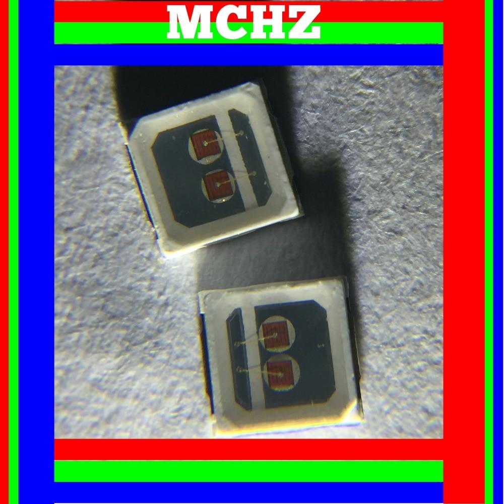 uxcell/® 100pcs 2835 4000K Warm White SMD LED Diode Lights Mount Chip DC 3-3.2V 60mA Super Bright Electronics Components Light Emitting Diodes