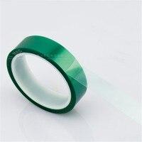 33 м * 20 мм * 0,06 мм высокой Температура лента зеленая PET клейкой ленты для печатной платы под пайку Экранирование спрей Сварки Высокого Темпера...