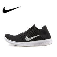Original Authentic Nike Free RN Flyknit Women's Breathable Running Shoes Sports Sneakers Outdoor Tennis Shoes Brand Designer