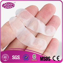 200 pairs/bag Thin gel eyelash patch flexible Silver Pack Lint Gel Under special Eye Pad Patch Collagen and Hyaluronic eye pads