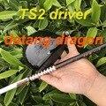2019 Nuovo driver di golf datang drago TS2 driver 9.5 o 10.5 gradi con Grafite TourAD IZ6 stiff albero golf club