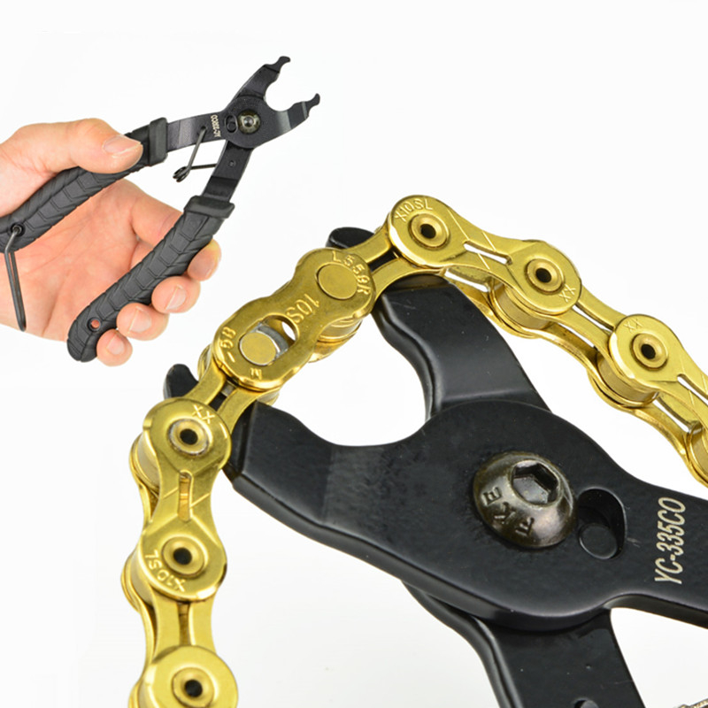 165mm Chain Pliers Bicycle Chain Quick <font><b>Link</b></font> Open Close Master <font><b>Link</b></font> Pliers Bike Chain Magic Button Clamp Removal Tools