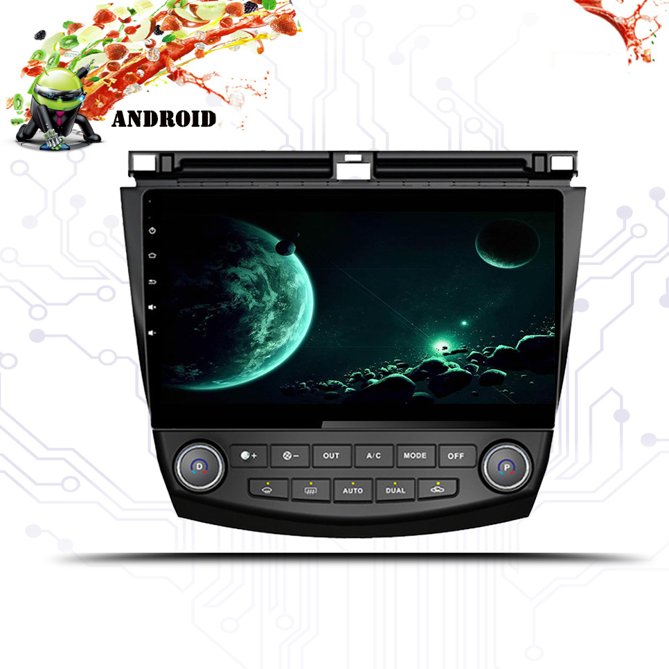 HD Android 9.0 Car DVD Player 4G+65G for <font><b>Honda</b></font> <font><b>Accord</b></font> 7 <font><b>2003</b></font> 2004 2005 2006 2007 <font><b>stereo</b></font> Car Radio GPS SAT Navi Multimedia player image