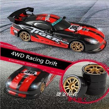 Newest Boy Racing Drift Remote Control Car 1:16 2.4G 4wd Racing car Shocking proof 1:16 30KM/H Childrens Toys RC car фото