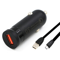 QC2 0 Quick Charge Smart Mini Car Charger For IPhone 5 6 6plus Samsung Galaxy Note