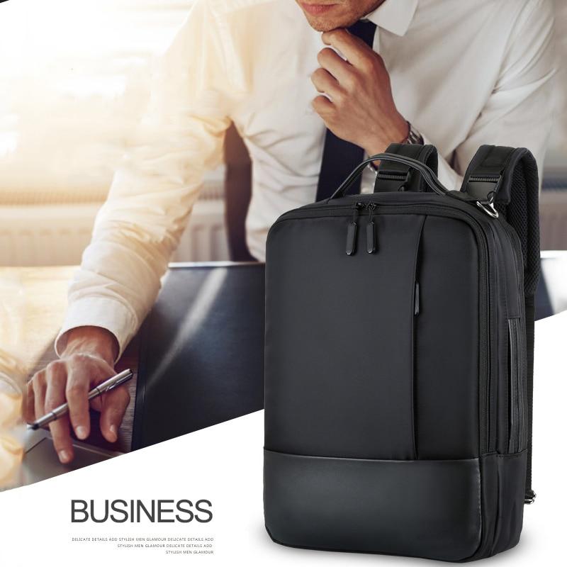 2019 Business Laptop Backpack Men Male Shoulder Bag 16.5 Notebook USB Backpacks Mens Anti Theft Waterproof Bagpack Bags